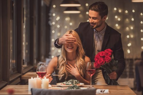 Valentinstags Dinner